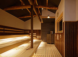 Steam sauna using a herbal medicine